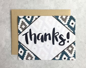 Thank You Card - Thanks!