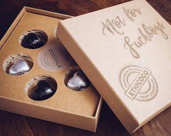 Just For You Box - Anti Valentines Gift Box Vegan Alternative to Chocolate
