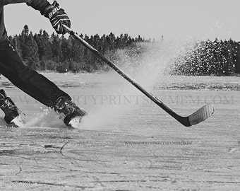 8x10 Hockey Skates - Edition 5