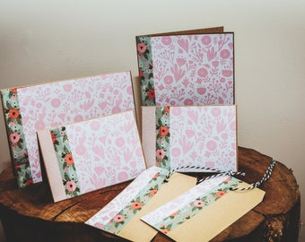 Gift Cards, Stationary Set, Floral Card, Gift Tags, Floral Stationary, Handmade Cards, Gift, Blossom, Floral Paper, Gift Wrapping, Wrapping