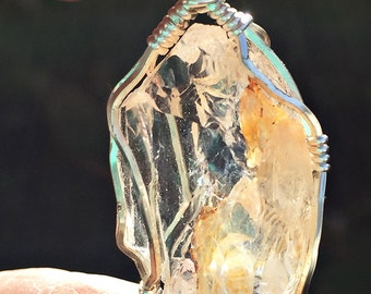 Lake County Diamond Pendant Golden Feather