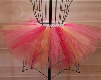 Running Tutu - Race Tutu - Adult Tutu - Neon Run - Color Run Tutu - Marathon Tutu - 5K Tutu - Foam Dance - Fun Run Tutu - Raspberry Tutu