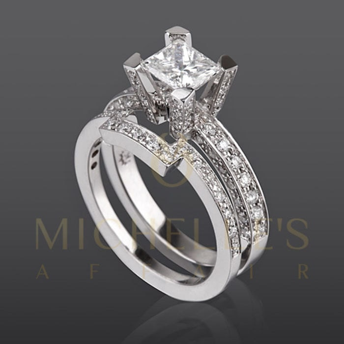 platinum princess stone prong bands fl band diamond anniversary pid bridal carat gallery shared