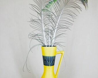 Vintage ceramic vase, Eckhardt & Engler, western Germany, 1950 's 1960 's, Henkel Vase, market