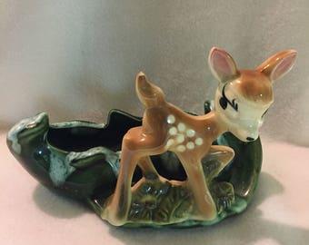 Bambi (Deer) Garden Planter (#079)