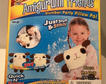 Amigurumi Friends Kit, Pookie The Panda Brand New FREE SHIPPING