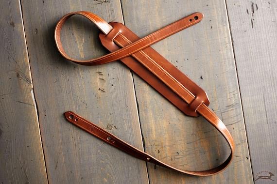 Leather Guitar Strap Custom Guitar Strap Handmade Guitar