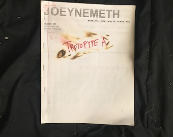Joey Nemeth Magazine Issue 1 of 1 Original