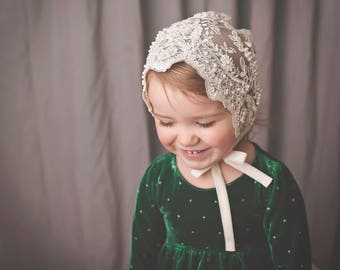 Geneva Bonnet PDF Sewing Pattern, including sizes 0-3 months - 5 years, Baby and Toddler Pattern