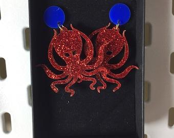Kraken Earrings