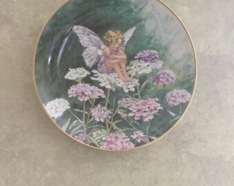 Collectable Candytuft Fairy Plate Heinrich Villeroy Boch Germany Numbered