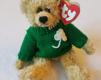 Ty Beanie Baby 1993 BLARNEY The Bear EXCELLENT CONDITION