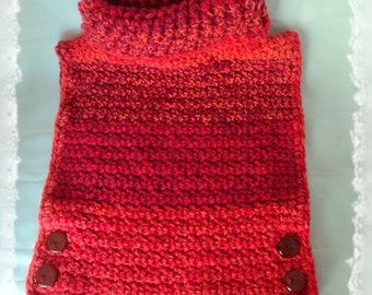 Poncho Lollypop Aura - Size 2 years