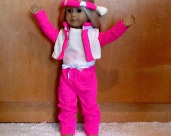 One of a Kind New & Repurposed 18 inch Doll Clothes Handmade by Linda in USA