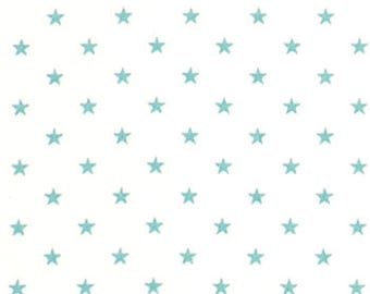 "Premier Prints Fabric-Mini Star-White/Canal Twill-or-Choice of 23 Colors-54"" wide-Decorator Cotton-Fabric By The Yard"