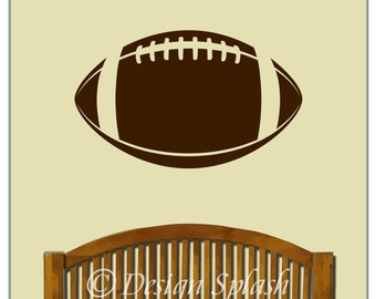 FOOTBALL Vinyl DECAL Boy's Team Sports Wall Decor Sticker SP-124