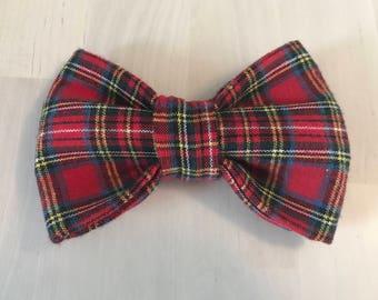 Dog bow tie, plaid bowtie, bowtie, rustic bowtie, dog gift, pet gift, dog accessories, cute dog bowtie, dog lover gift, cute dog bow tie