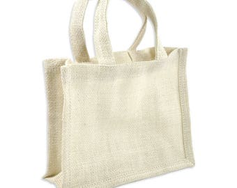 White Burlap tote bags, SALE 2 DAY SALE, fast ship, all natural white burlap, tote bags, burlap bags, burlap totes