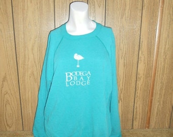 CLOSING SHOP 50% Off 80's 90's sweatshirt   Bodega Bay California