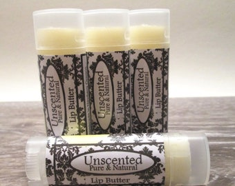 Unscented Lip Butter Unscented Lip Balm