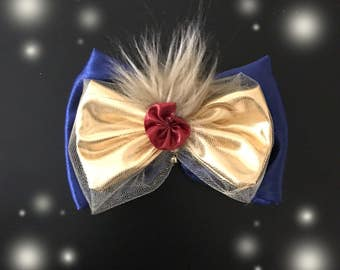 Beauty and the beast bow - Disney bow - Princess bow