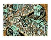 Subway Party