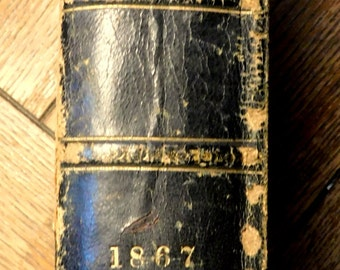 Peterson's Magazine July to December 1867 Bound Volume Early Fashions, Fashion Plates, Engravings, Craft Templates, Literature