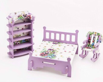 Quick View. Wooden Furniture For Dolls