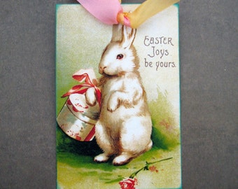 Easter Rabbit Gift Tags
