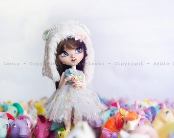 "Tirage simple 10x15cm ""Ponyland"" - Pullip Isul Dal photographie, doll art collection, impression deco no BJD no Blythe"