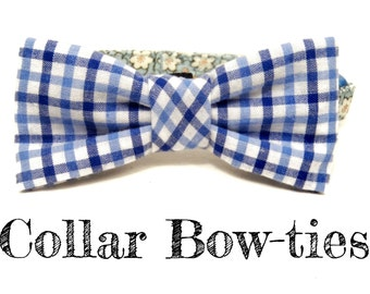 Collar Bow Tie Add On - Cat & Dog Sizing - Please Mention Fabric Choice at Checkout