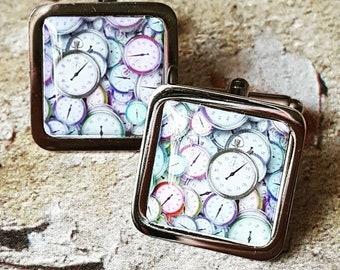 Tick Tock Clocks Cufflinks