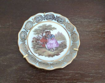 Limoges France Plate with Hanger