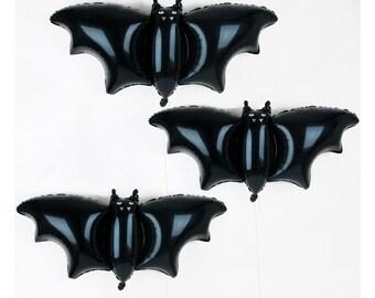 3 ballons chauve-souris / Parfait pour Halloween ou un anniversaire Batman