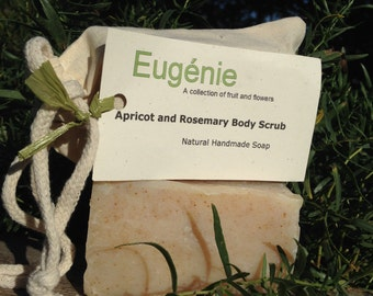 Apricot and Rosemary Scrub