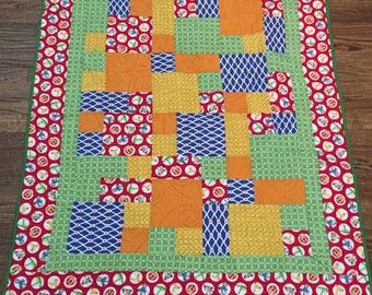 Take five quilt - Red