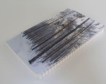 Winter Forest Notebook -  75 pgs - Travelers Notebook - Journal - Bullet Journal - Writing Journal