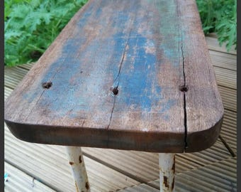 Surf Blue shabby Chic Small Table