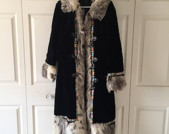 70s Almost Famous vintage coat like Penny Lane wore, size M