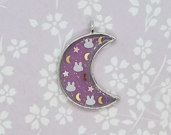 Sailor Moon bedding inspired necklace