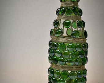 Decorated Glass Bottle