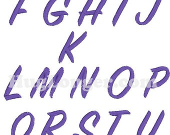 Sign Painter Font HL2190 including bx embroidery file