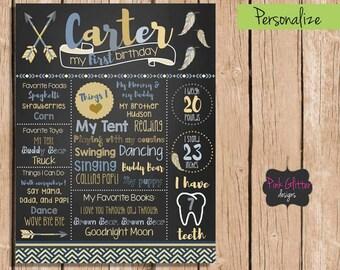Wild One Birthday Board, Wild One Chalkboard, Wild One Birthday, Wild One, First Birthday Chalkboard, Birthday Board, Chalkboard, First