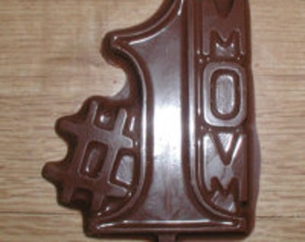 Mom #1 Lolly Chocolate Mold