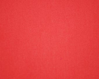 Bright orange cotton fabric