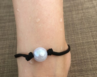 Clip on pearl Anklet