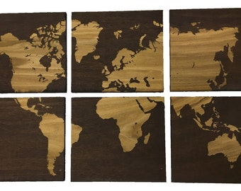 World Map Wall Hanging