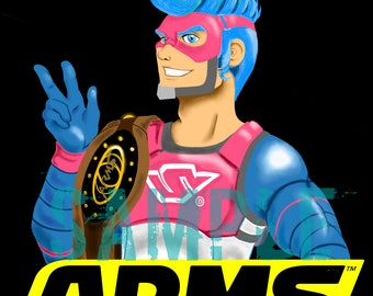ARMS: Spring Man {PRINT}