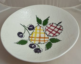 Blue Ridge Quilted Fruit Open Vegetable Serving Bowl