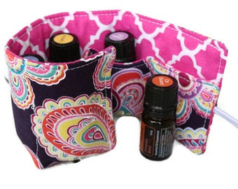 Essential Oil Case~Doterra~Young Living~Essential Oils Holder~Essential Oil Carrier~Insert~Bag Insert~Travel Case